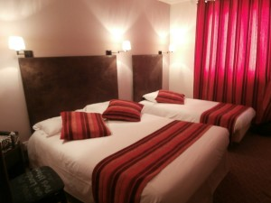 Red Triple Room, Hotel Digoin