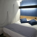 Double Room Blue Decoration